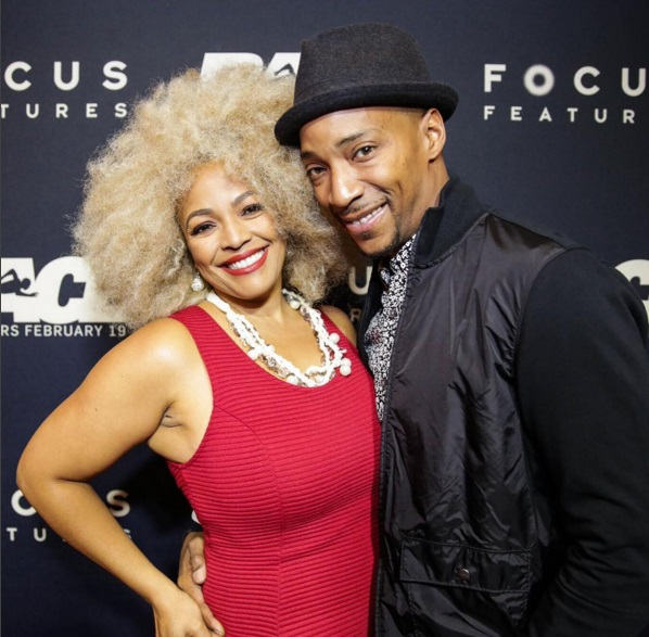 Christopher Morgan and wife Kim Fields