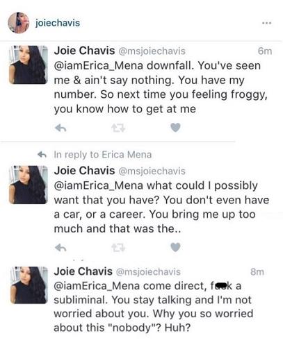 Erica Mena and Joie Chavis