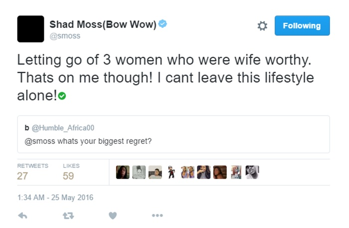 Bow Wow Shad Moss