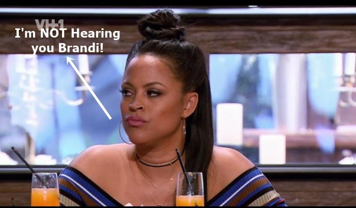 Brandi Maxiell + Shaunie O'Neal Face off