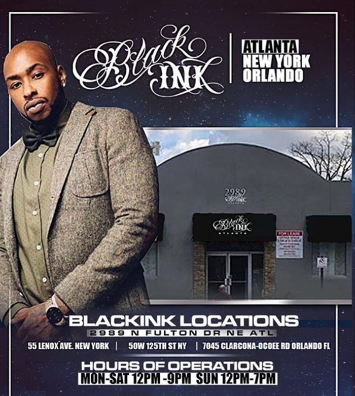 Ceaser and Ted Partner Up and Open Black Ink Atlanta