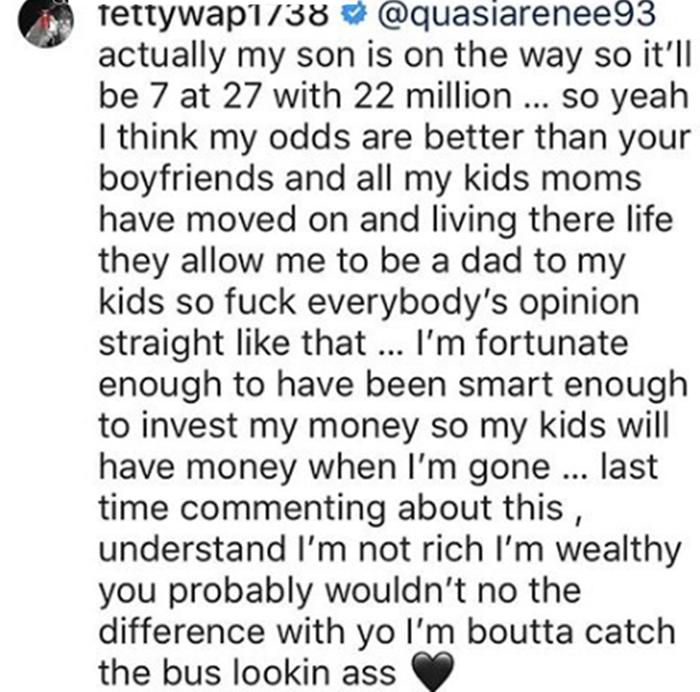 Alexis Skyy Threatens Fetty Wap with Lawsuit