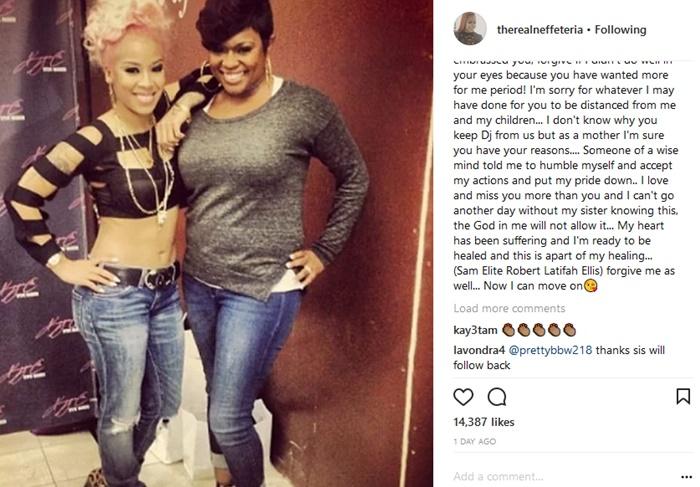 Keyshia Cole Checks Neffe Apology; Defends 22-Year Boyfriend