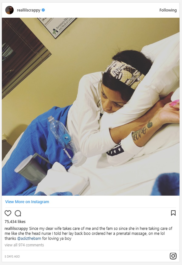 Scrappy Updates His Recovery After Near Fatal Car Crash