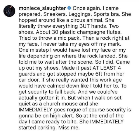 Moniece Slaughter Files Police Report Against Princess Love Norwood